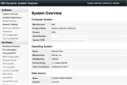 IBM DSA System Overview